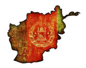 Afghanistan map — Stock Photo