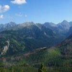 Panorama of the Tatras — Stock Photo