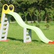 Slide in garden — Stock Photo