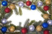 Christmas frame — Foto de Stock