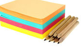 Stack of post-it — Stock Photo