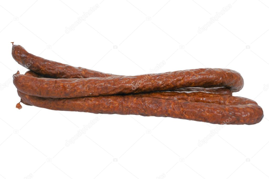 how to cook dry sausage