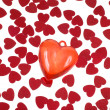 Foto de Stock  : Red hearts