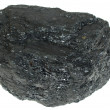 Stock Photo: Coal isolated