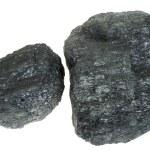 Coal isolated — Stock Photo