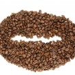 Stock Photo: Big coffee beans
