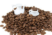 Coffee beans abstract — Stock Photo