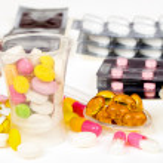 Close-up of medicine — Stock Photo