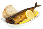 Smoked mackerel — Stock Photo