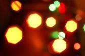Blurry pattern christmas light — Stock Photo