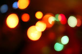 Blurry pattern christmas light — Stock Photo