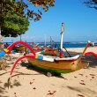 Bali boats — Stock Photo