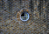 Through the Round Window — Stock Photo