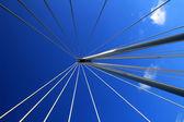 Blue Sky and Bridge — Stock Photo