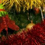 Nový rok strom — Stock fotografie