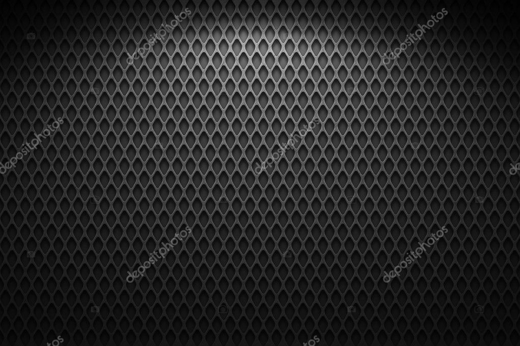 Metal wire mesh, black and gray — 图库照片 #2036127