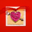 Decoration in heart form — Stockfoto