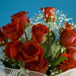 Stock Photo: Rose bouquet