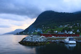 Seaport in Norway — Stockfoto