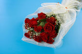 Bouquet of red rose — Stock Photo