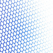 Blue metallic netting — Stock Photo #2323331
