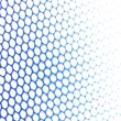 Blue metallic netting — Stock Photo