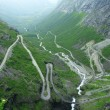 Trollstigen road — Stock Photo