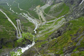 Trollstigen road, Norway — Stock Photo