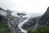 Glacier in the mountain of Norway — Stock Photo