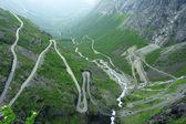 Trollstigen road — Stock Photo