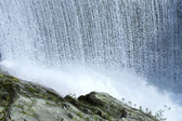 Waterfall in the wild nature — Stock Photo
