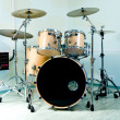 Stock Photo: Drum set