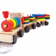 Colorful toy train — Stock Photo #1726041