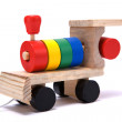 Colorful toy train — Stock Photo #1726077