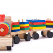 Colorful toy train — Stock Photo #1740707