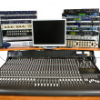 Studio recording equipment — 图库照片