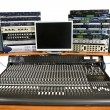 Studio recording equipment - Stock Photo