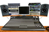 Studio recording equipment — Stock Photo
