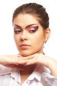 Krásný ženský model — Stock fotografie
