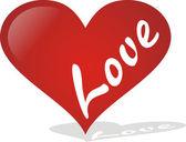 Heart Love — Stock Vector