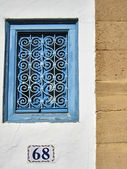 Blue Window — Stock Photo