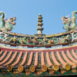 Chinese temple decorate — Stock Photo