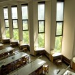Windows of University Library — Stock Photo