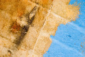 Texture of old painted wood — Stock Photo
