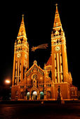 Catedral of Szeged,Hungary — Stock Photo