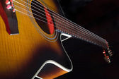 Acoustic guitar — Stock Photo