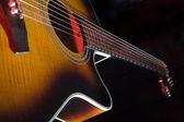 Akustisk gitarr — Stockfoto