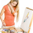 Painter — Stock Photo