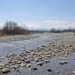Stock Photo: River-bed of river of Cherek