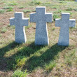 Stock Photo: Foreign military graves in town of B